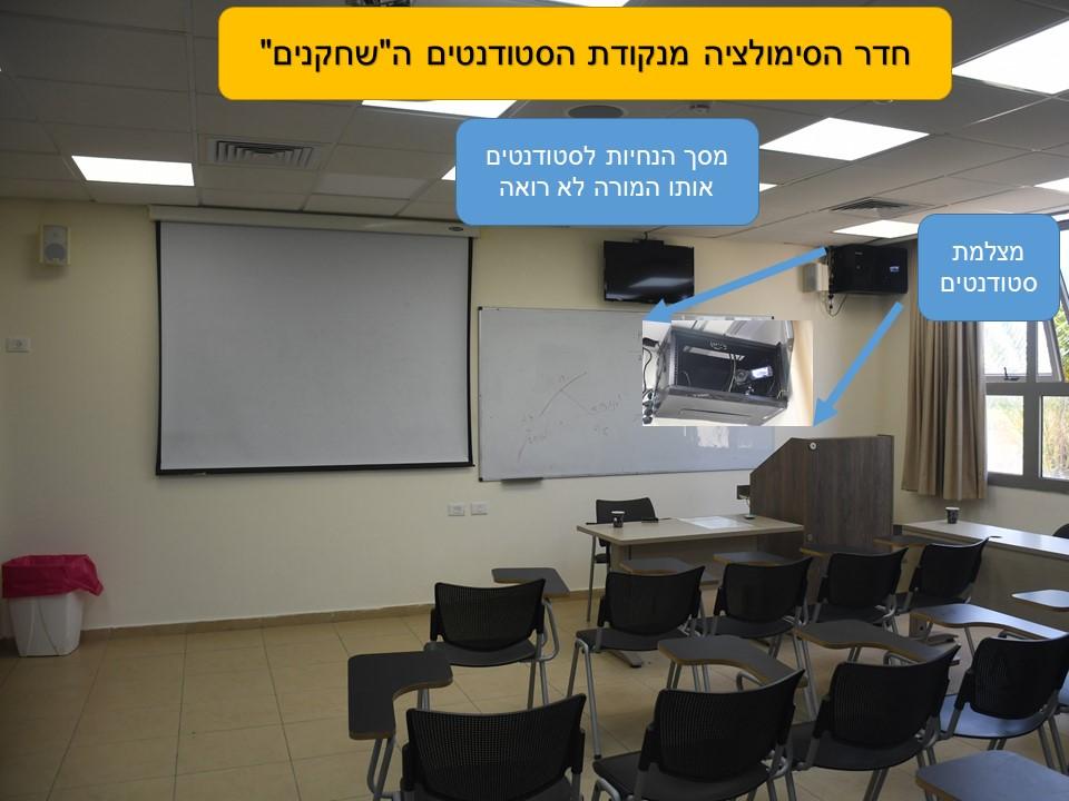 """חדר סימולציה בהוראה מנקודת מבט ה""""לומדים"""""""